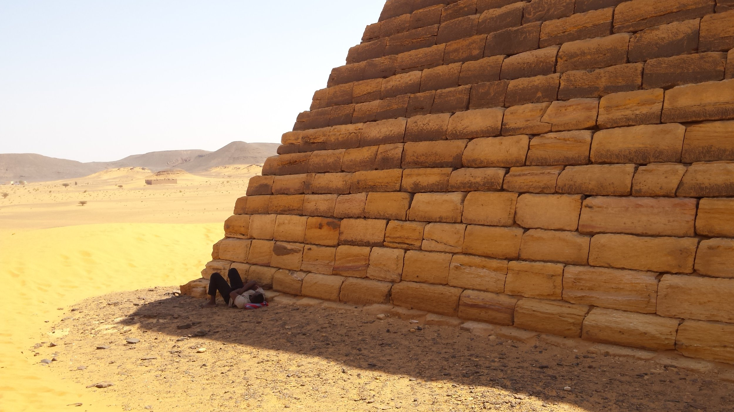 Roba did not give a fu— about pyramids.