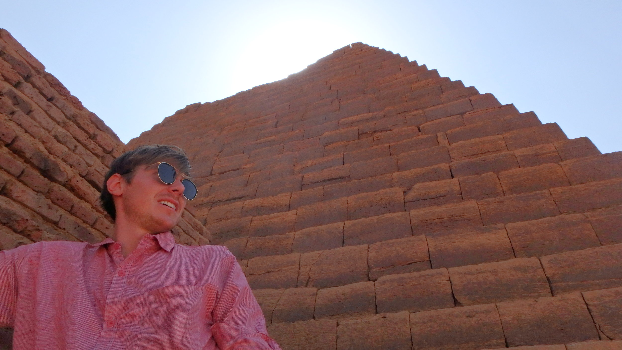 But pyramids make you look cool.