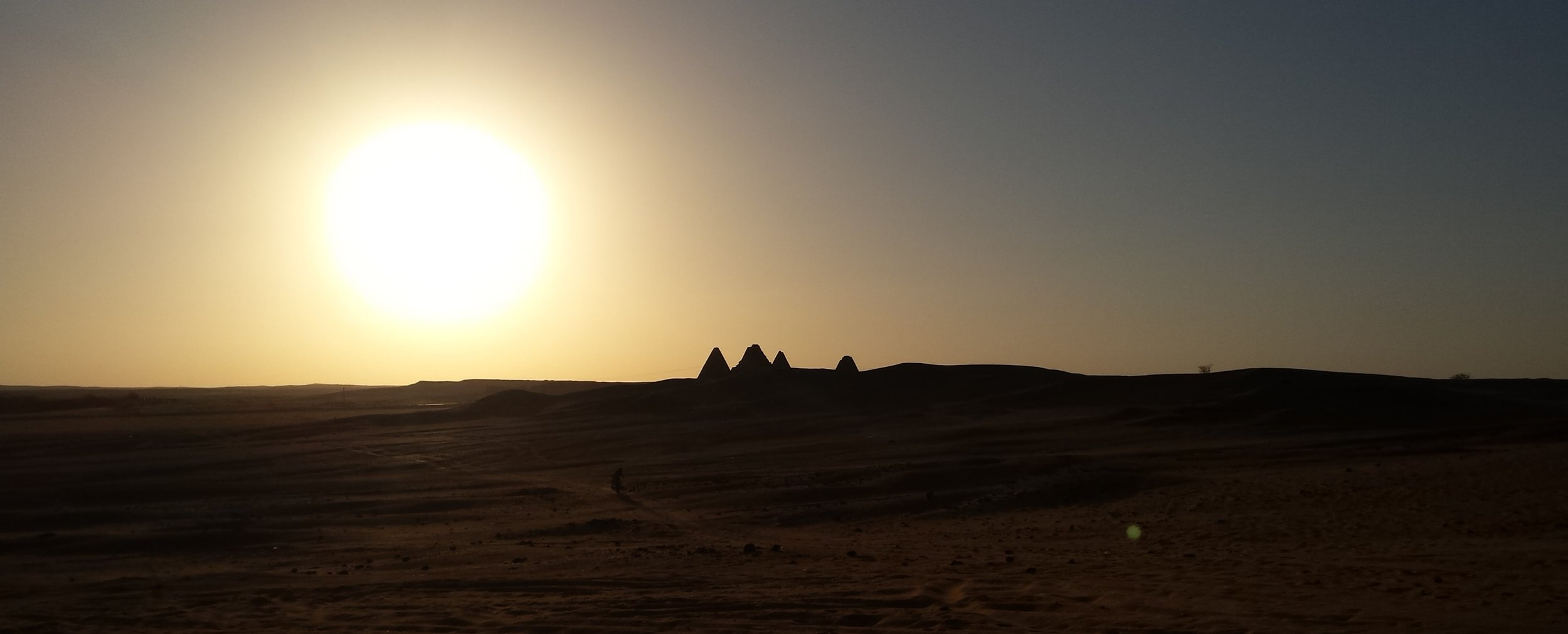 Pyramids near to Jebel Barkal, Karima.
