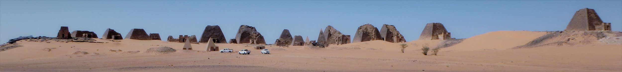 Trippy Pyramids of Meroe.