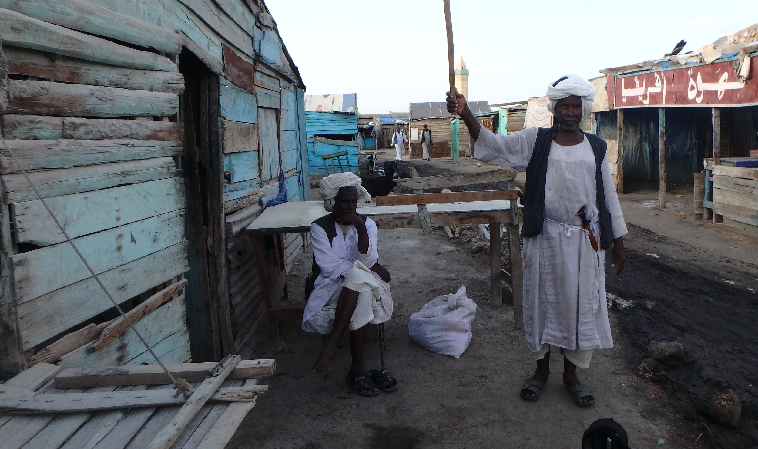 Sadly, Suakin's urban area has been reduced to an impoverished shanty town with the move to Port Sudan. It's still full of some great characters though.