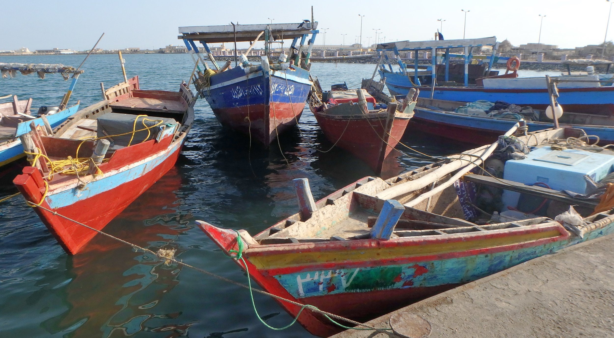 Beautiful boats in Suakin.