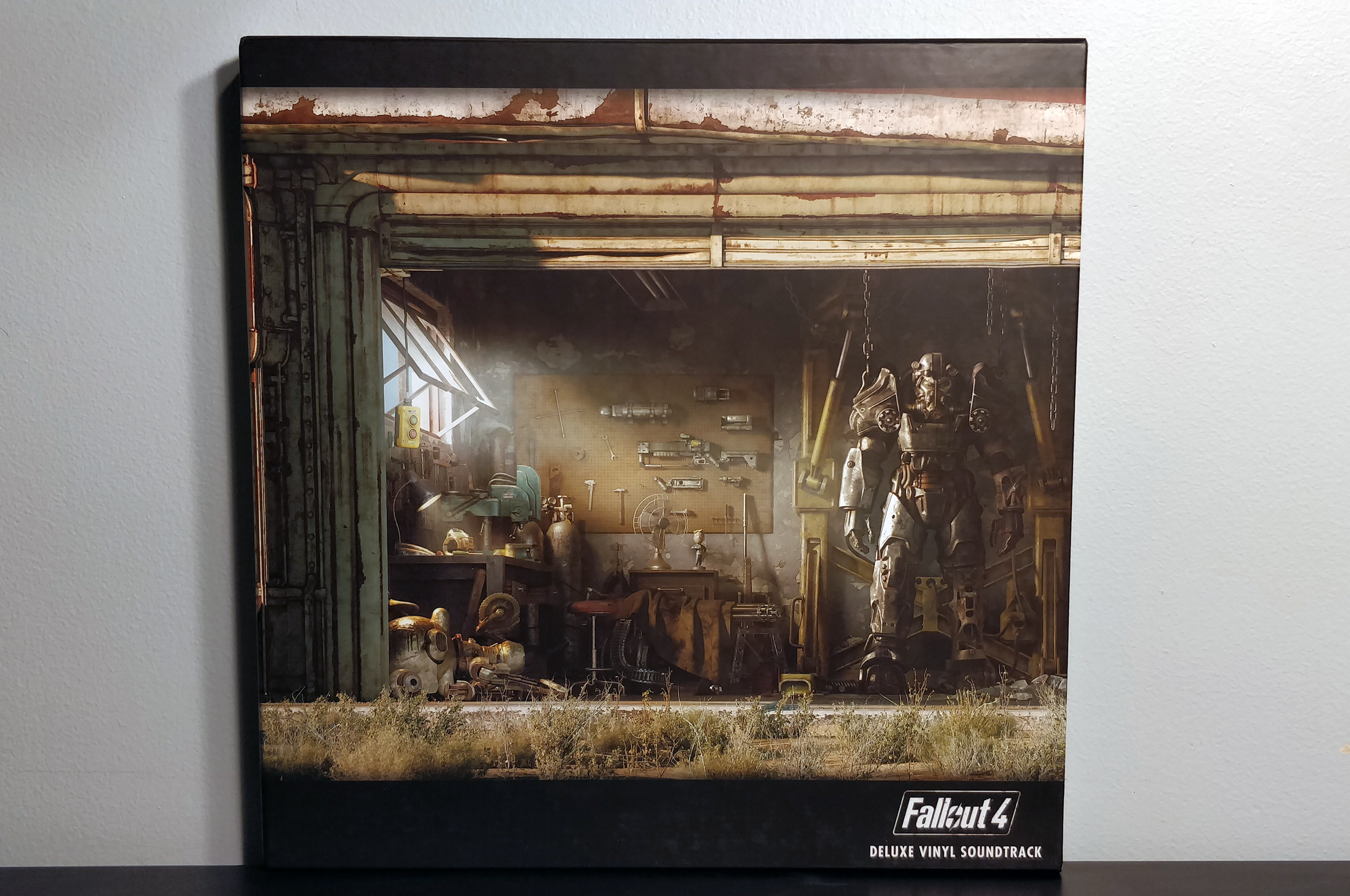 """Fallout 4 by Inon Zur pressed on """"Vault Suit"""" blue vinyl by Spacelab9"""