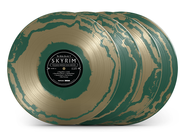 """Emerald Circlet Colored Vinyl Variant"""