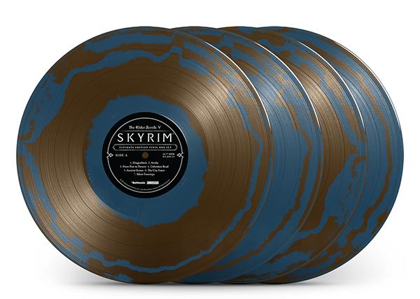 """Sapphire Circlet Colored Vinyl Variant"""