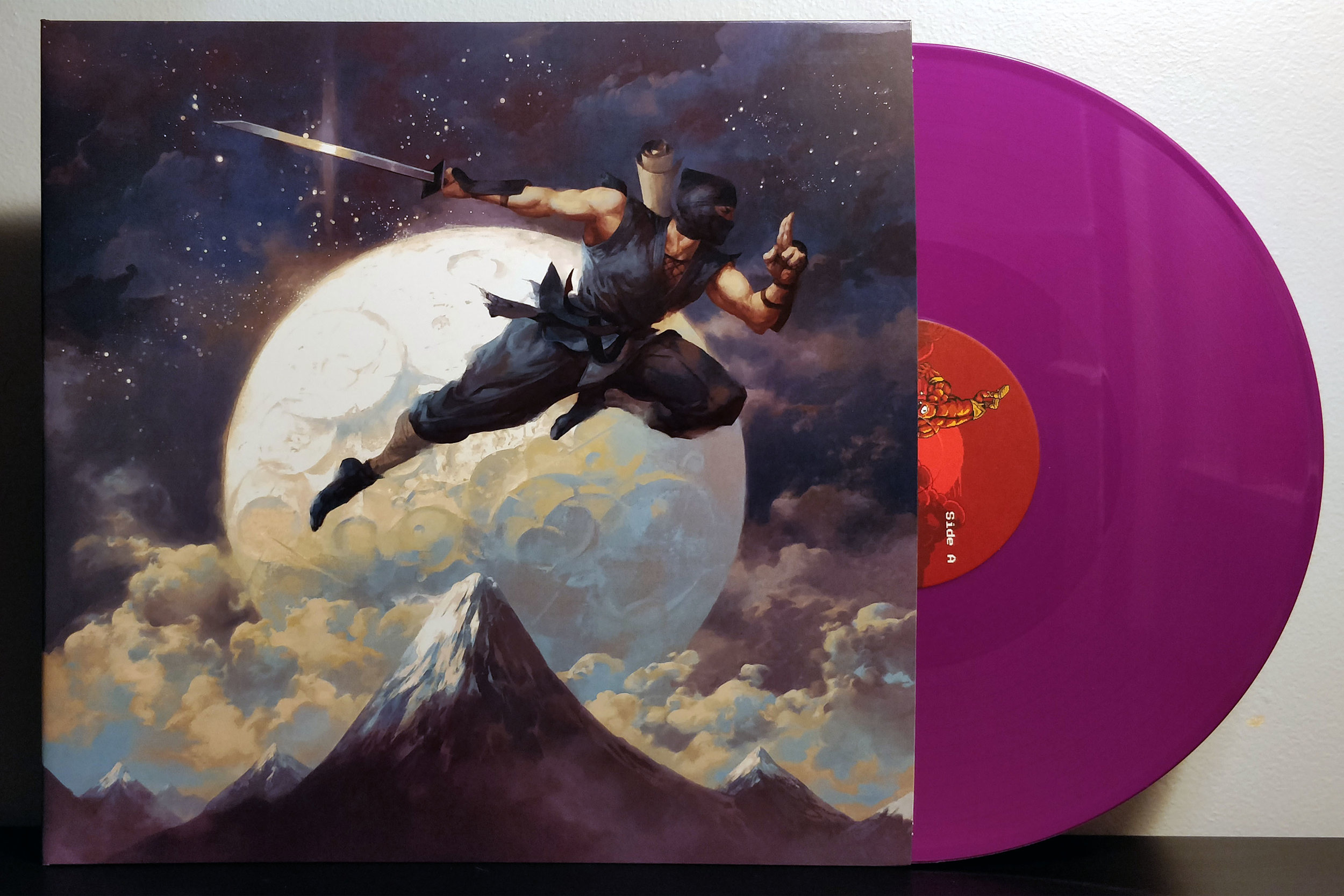 The Messenger by Rainbowdragoneyes pressed on Past and Future vinyl by iam8bit