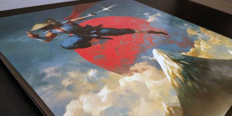 The Messenger by Rainbowdragoneyes — VGM WAX