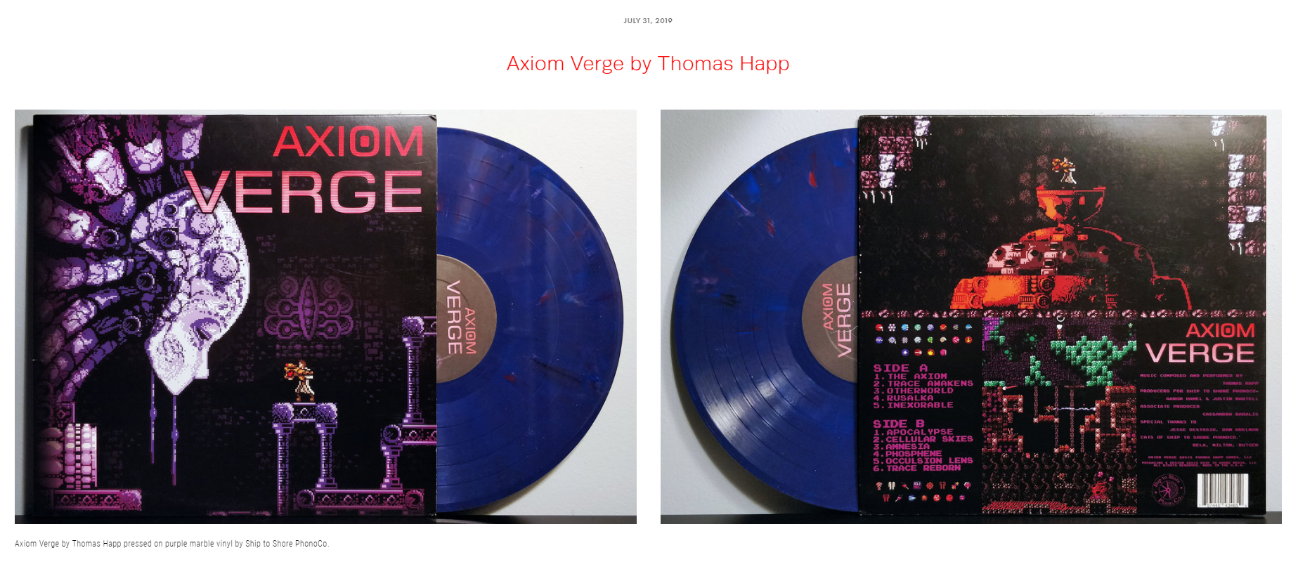 """Review #45 - """"Axiom Verge isn't just a game or an experience, it's a transformation of one man's own dreams into a reality."""""""