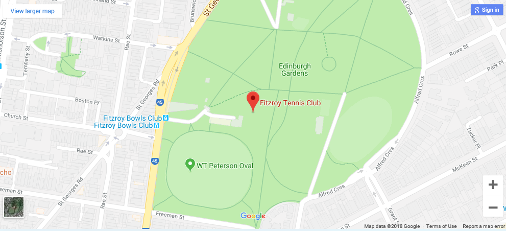 Fitzroy Tennis map.png