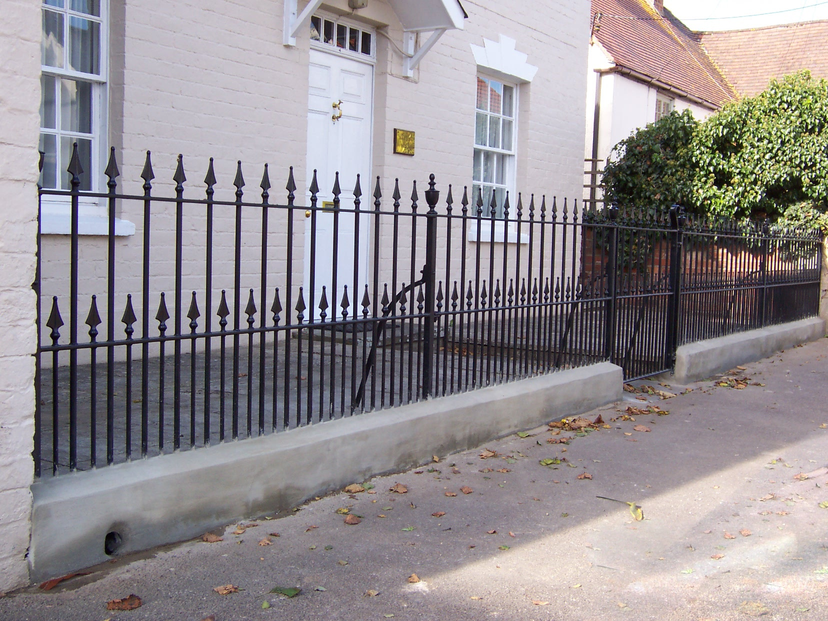 - Iron Railings