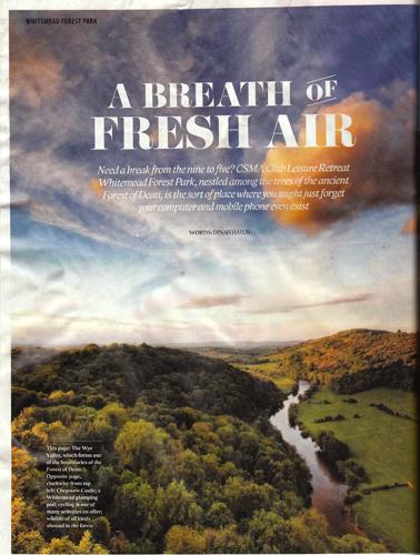 CSMA Members' Magazine - Full Page Advert
