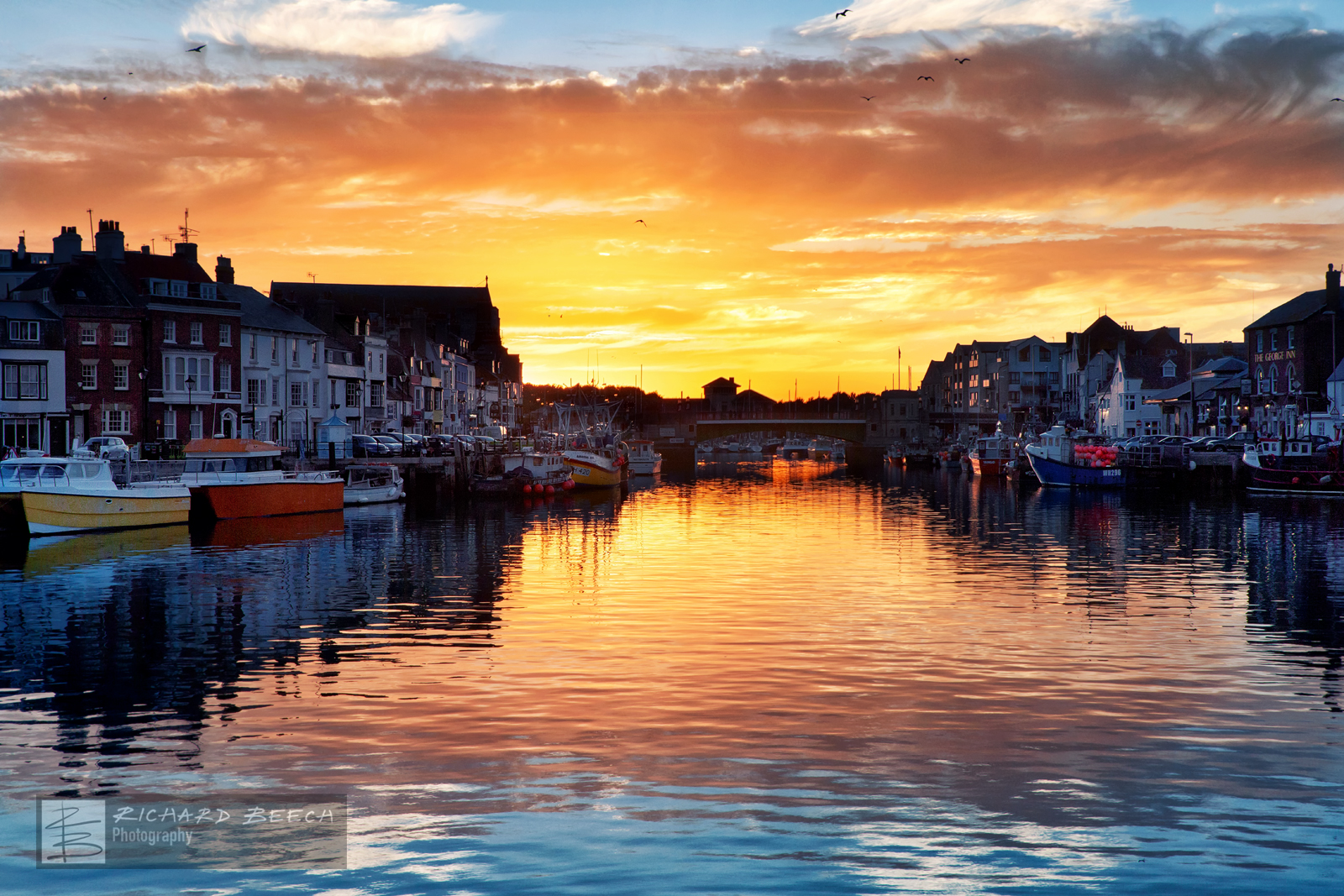 Weymouth Harbour Sunset