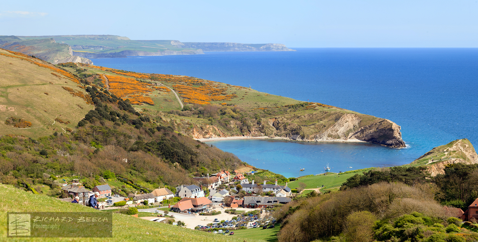 Lulworth Village and Cove