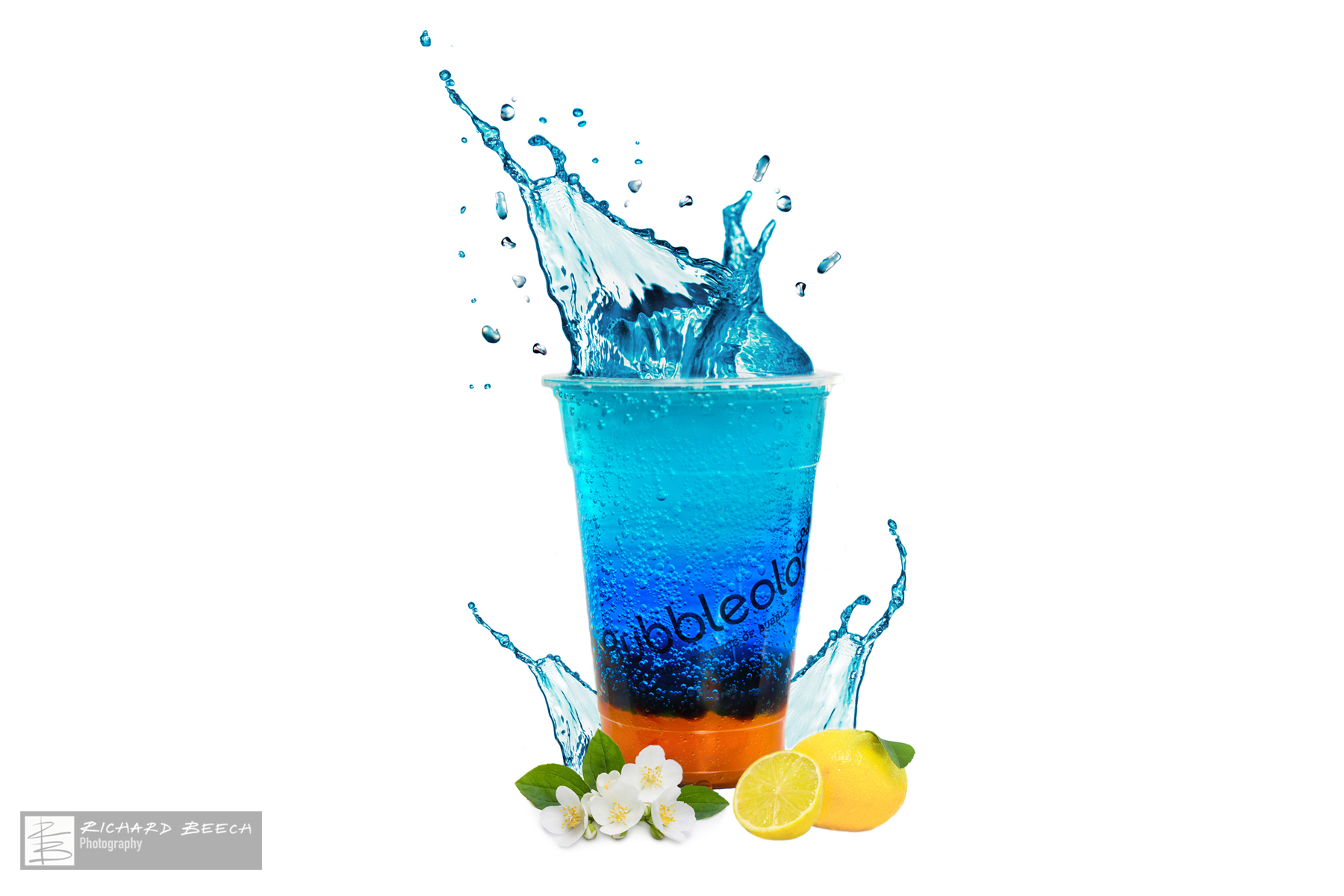 Electric Yuzu Splash Advert