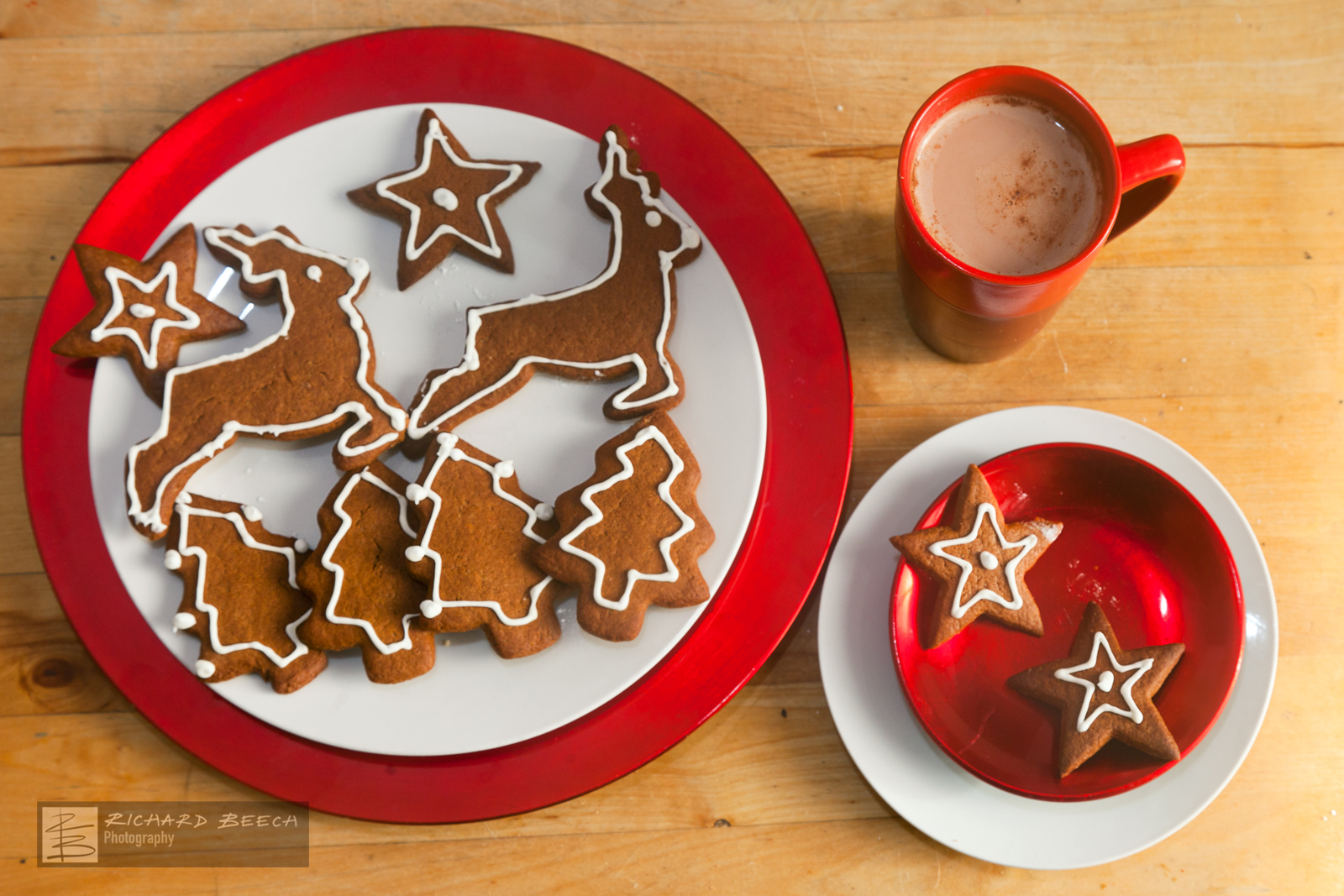 Gingerbread and Hot Chocolate