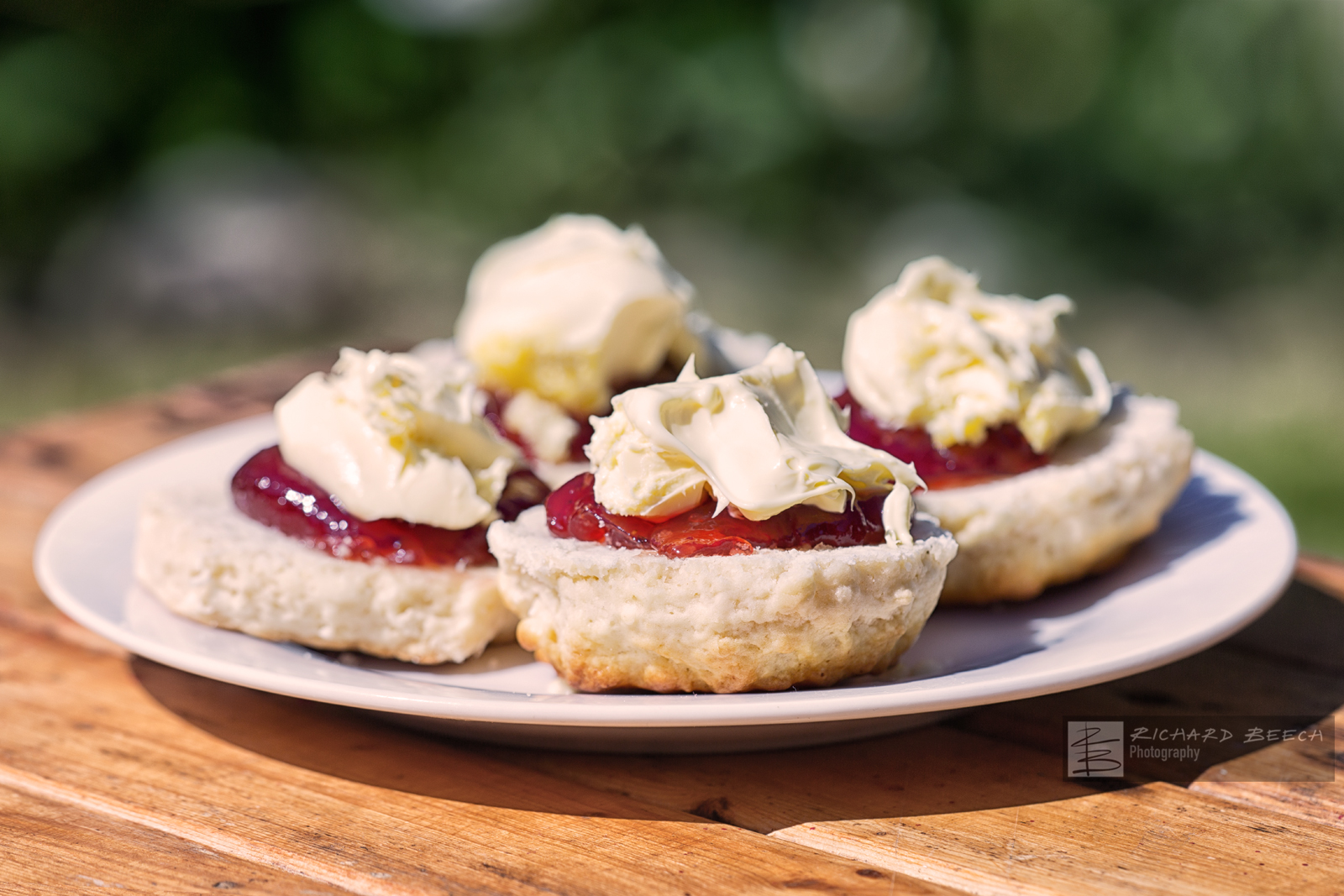 Cream Tea Al Fresco