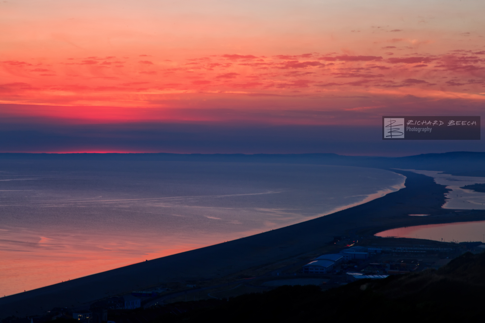 Chesil Red Sunset 2018