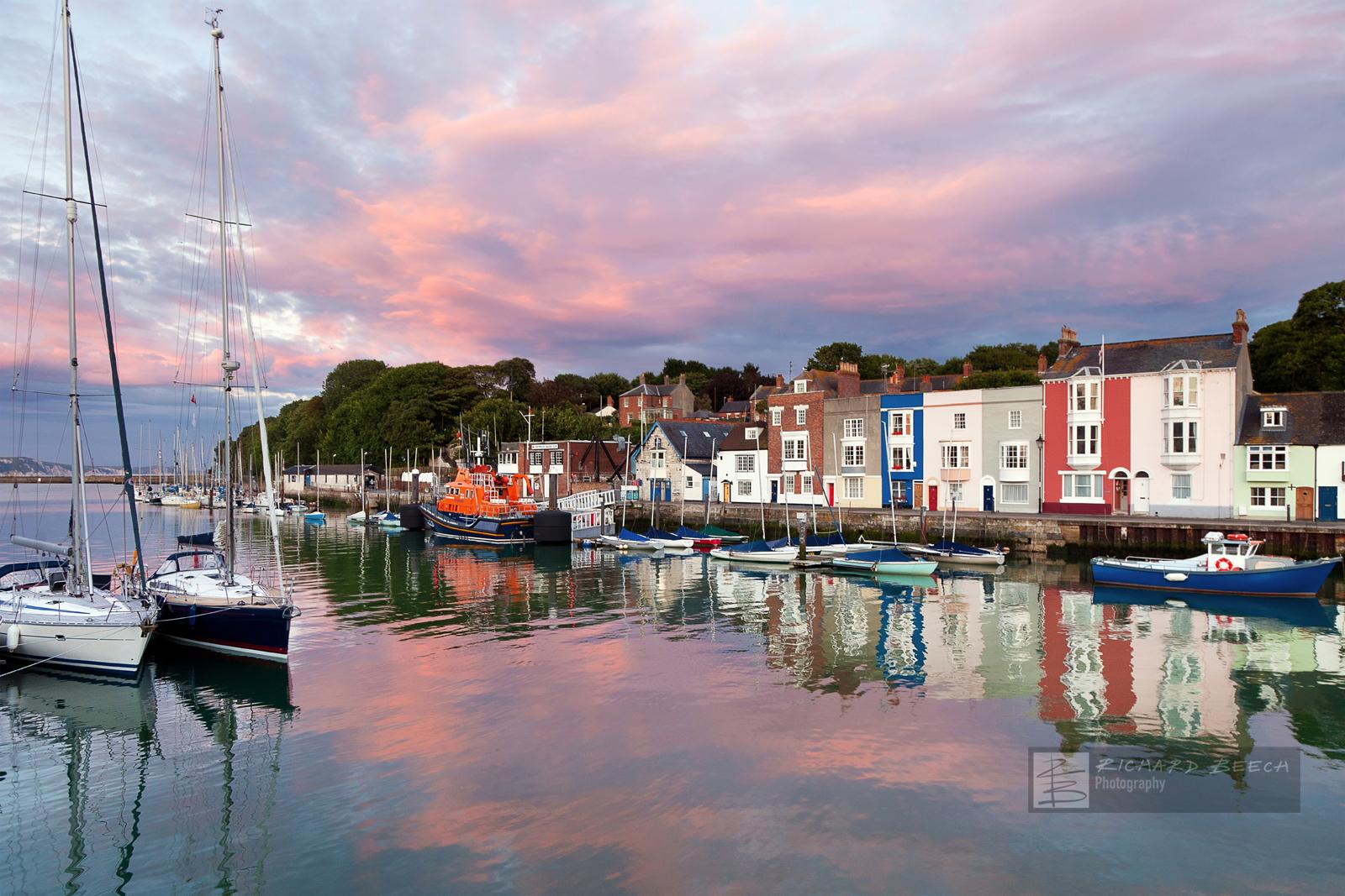 Weymouth Lifeboat Sunset