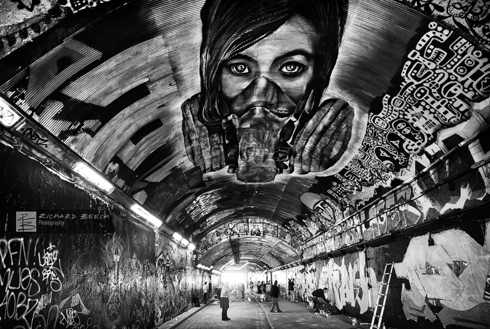 Leake Street Grafitti Tunnel