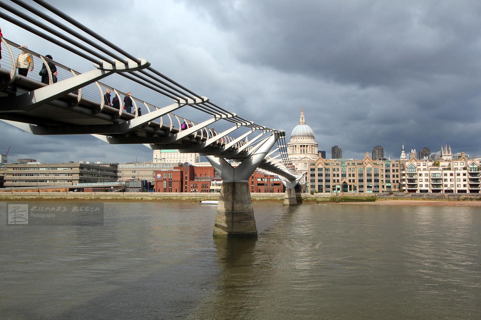 Millennium Bridge to St Paul's