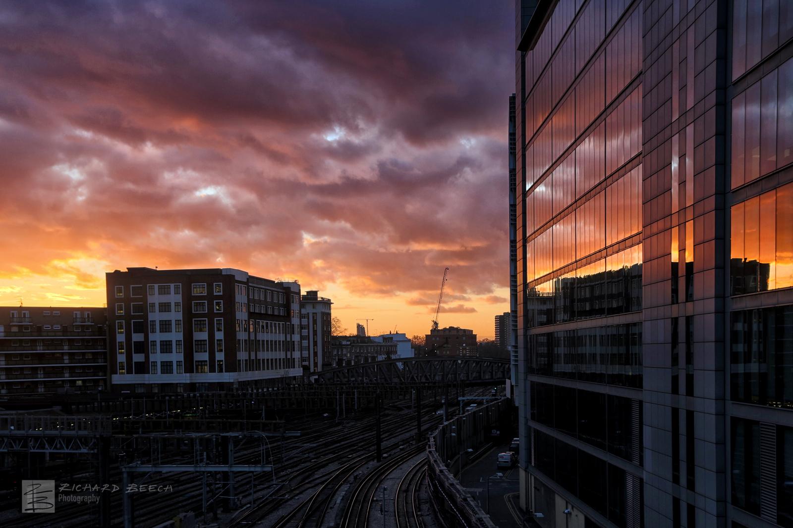 Paddington Sunset