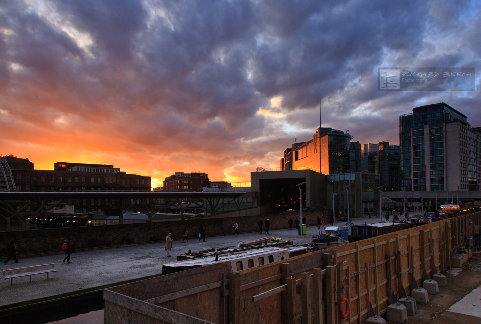 Paddington Station Sunset