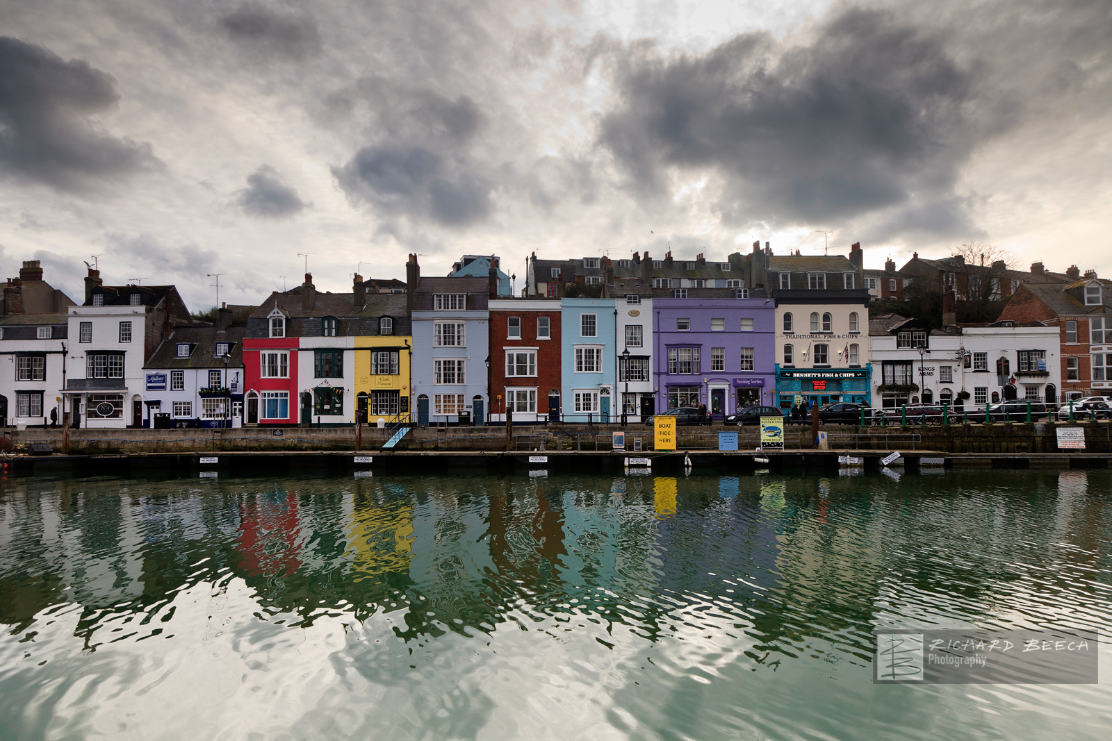 Stormy Weymouth Reflections