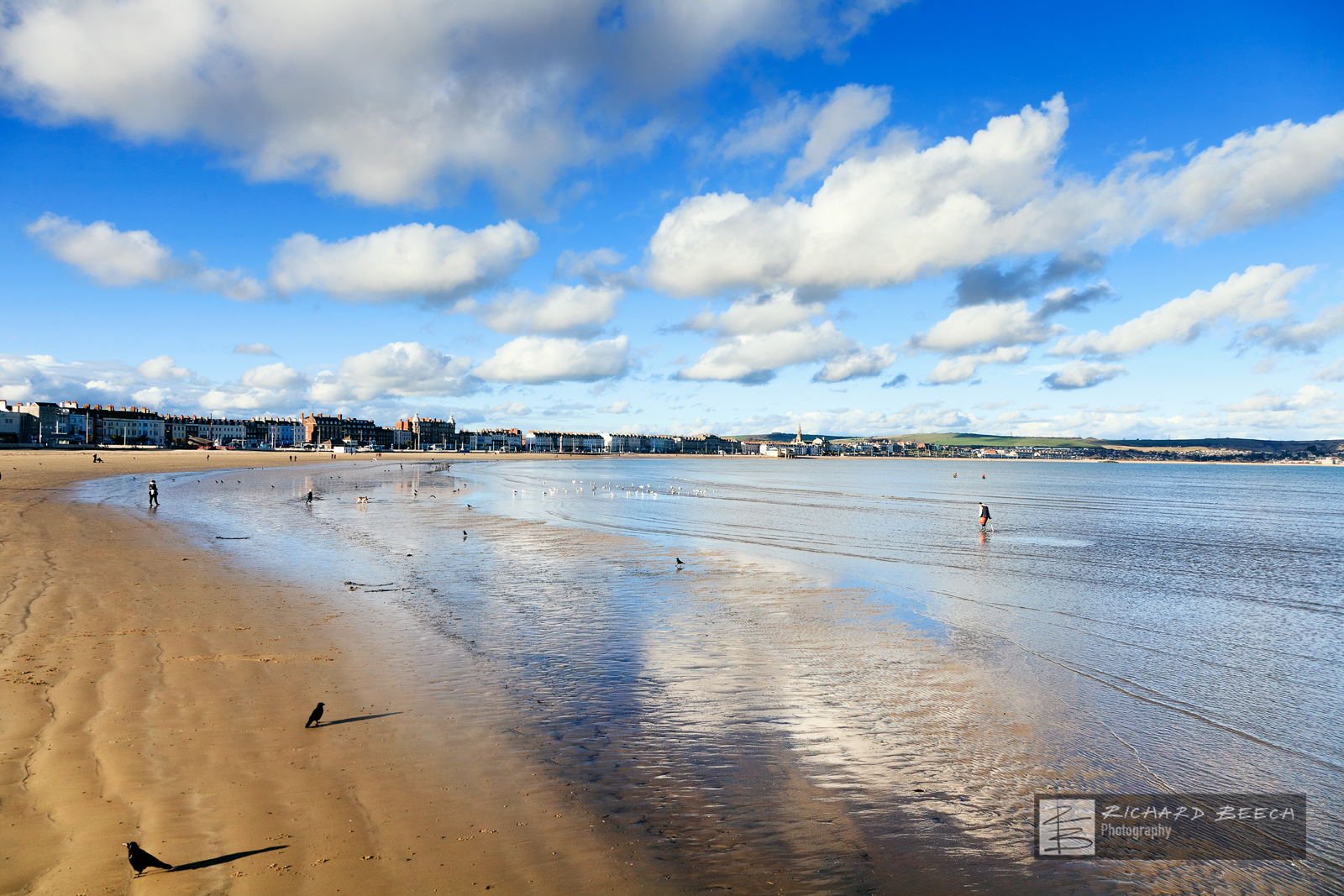 Weymouth Clouds Reflections