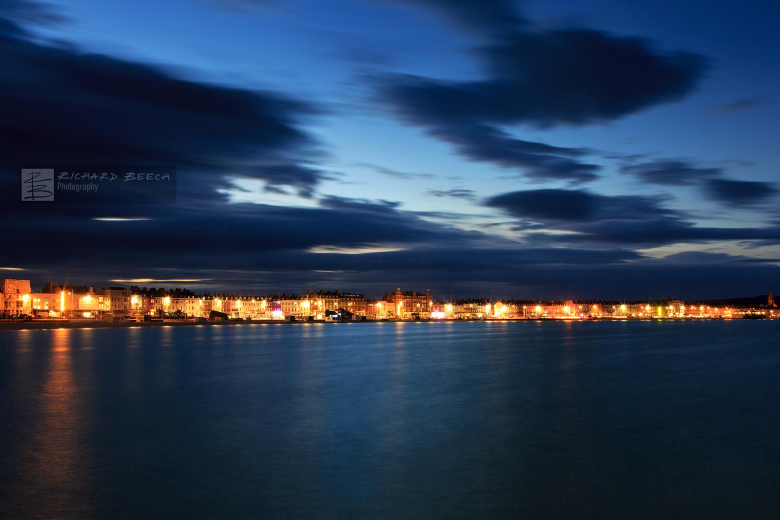 Weymouth Esplanade by Night