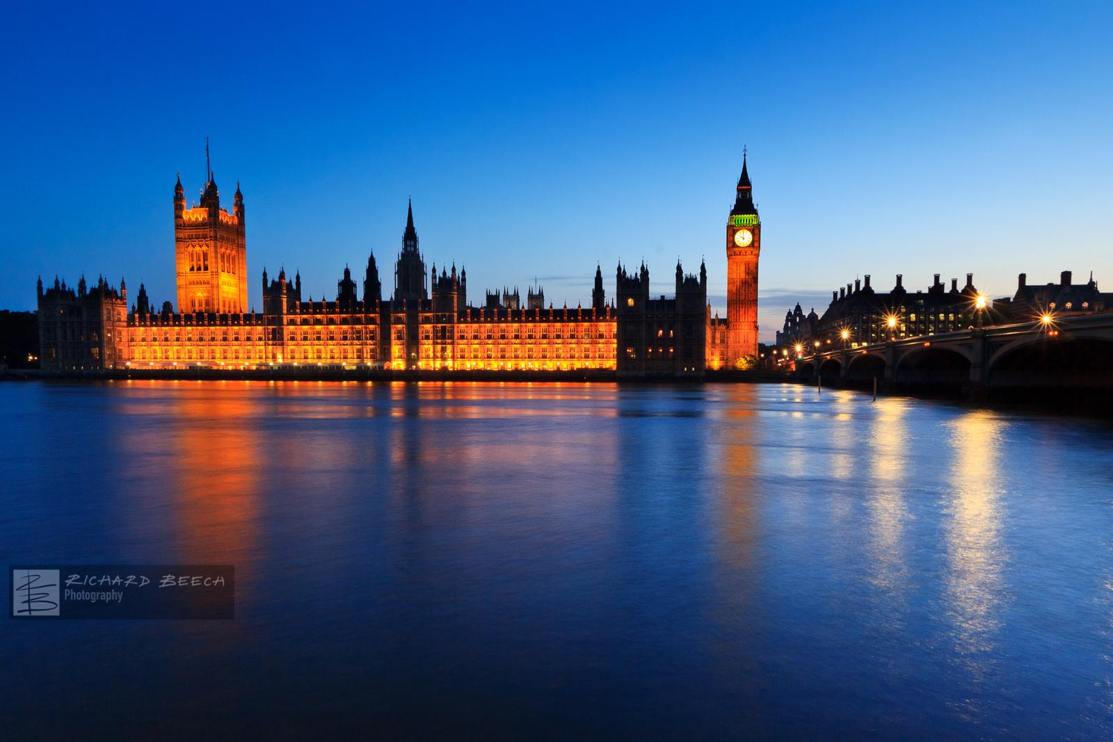 Westminster Blue Hour