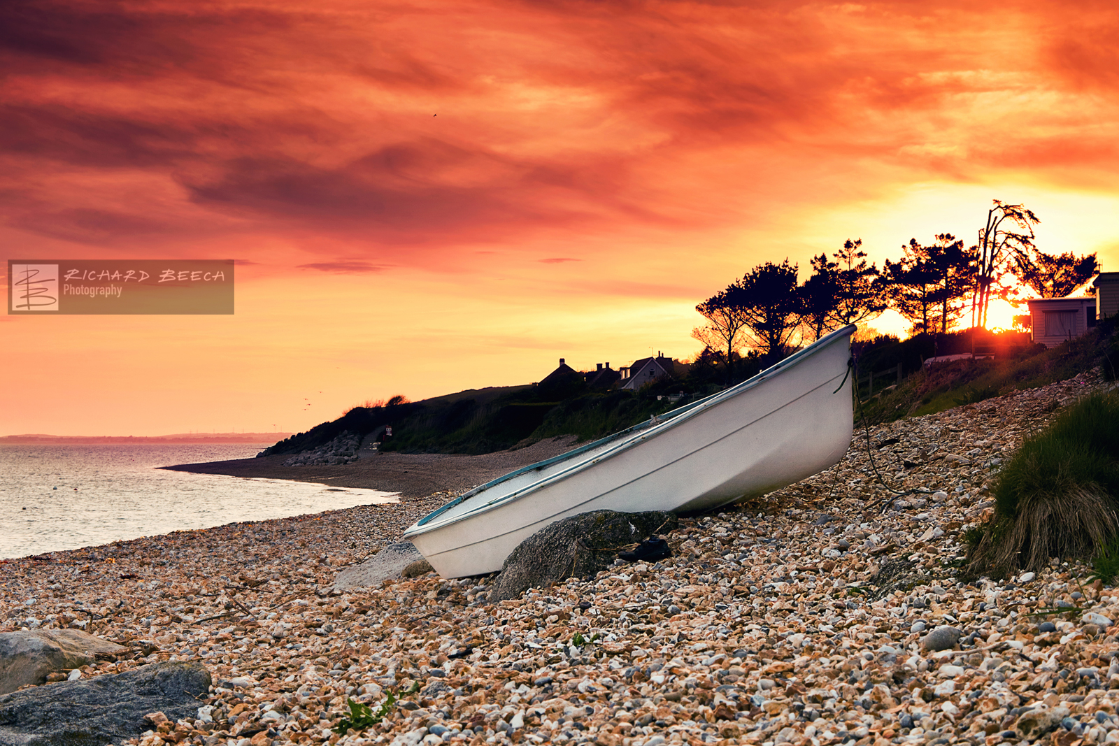 Ringstead Boat Sunset
