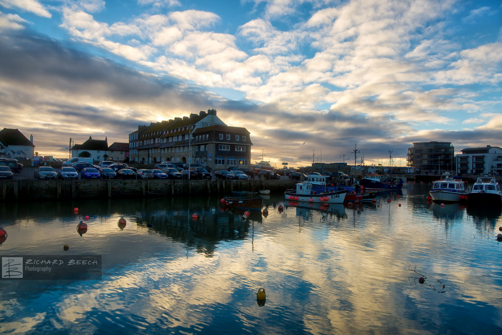 West Bay Harbour Reflections
