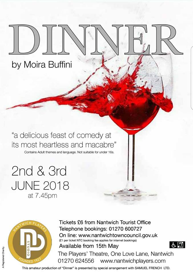 Poster for Production of 'Dinner'