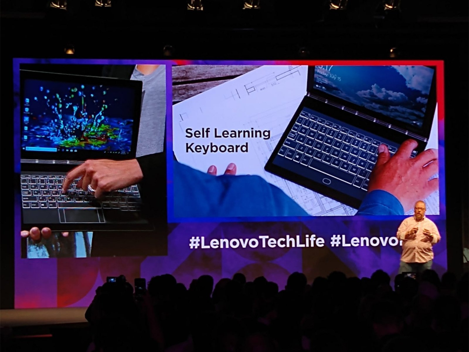Lenovo Demo at Worldwide Expo #LenovoTechLife 2018