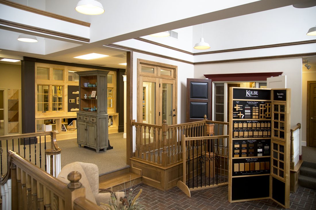 Our showroom in Overland Park caters to architects, designers and discerning homeowners. - We turn your dream projects into reality with our selection of high-quality doors, windows, moulding, stair rail systems and hardware. We carry an array of vendors and can custom make doors and trim to restore or enhance your space's design.Bring your Instagram pics, Pinterest boards and magazine tear sheets — and we'll turn your ideas into installed, functional features in your home.
