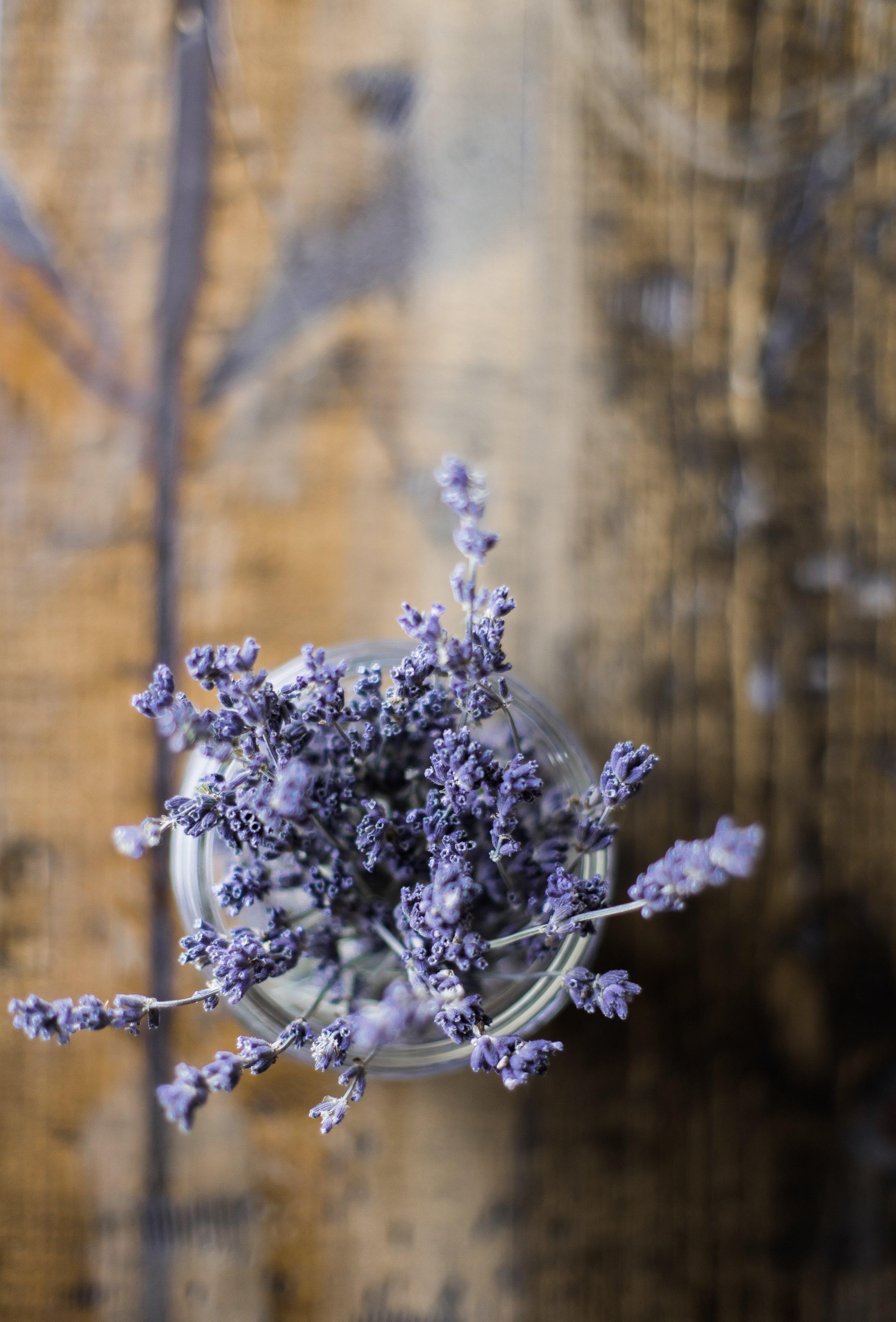 Bedroom Spray - 1 1/2 cups water1/2 cup distilled white vinegar12- 15 drops essential oil (lavender & vanilla)
