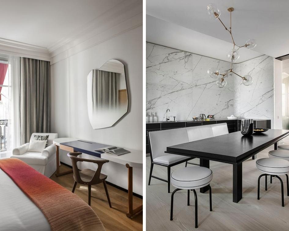 Hotel Vernet in Paris by Francois Champsaur Apartment in Paris by Francois Champsaur