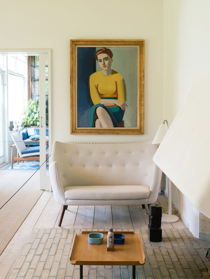 Finn Juhl's House via Cereal Magazine
