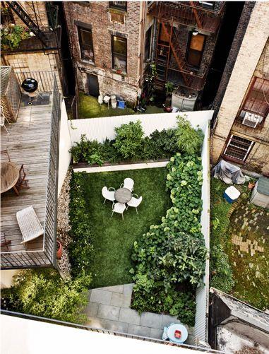 Brooklyn Backyard - This ain't the suburbs kids…..