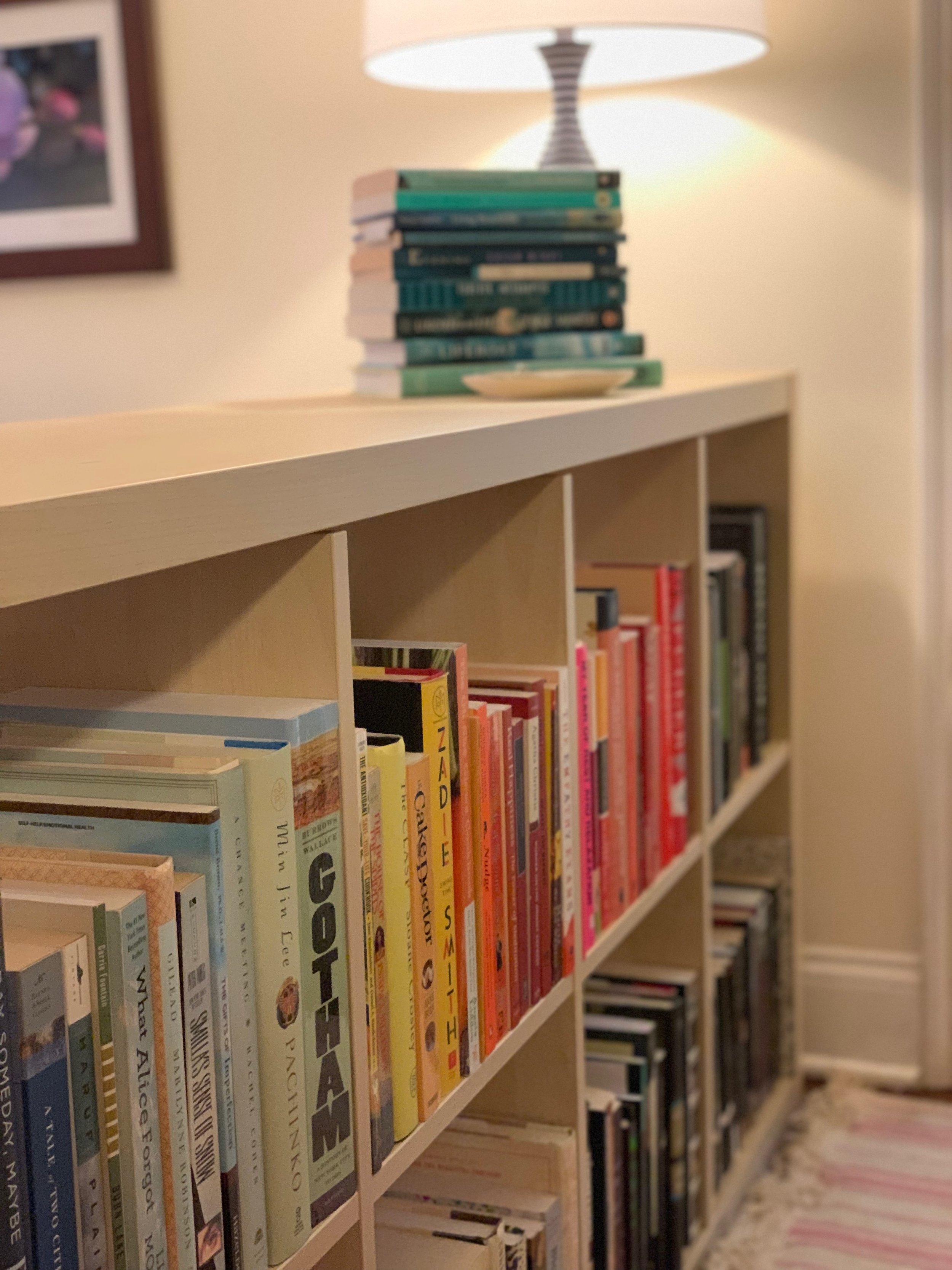 bookshelf portrait by beam&bloom