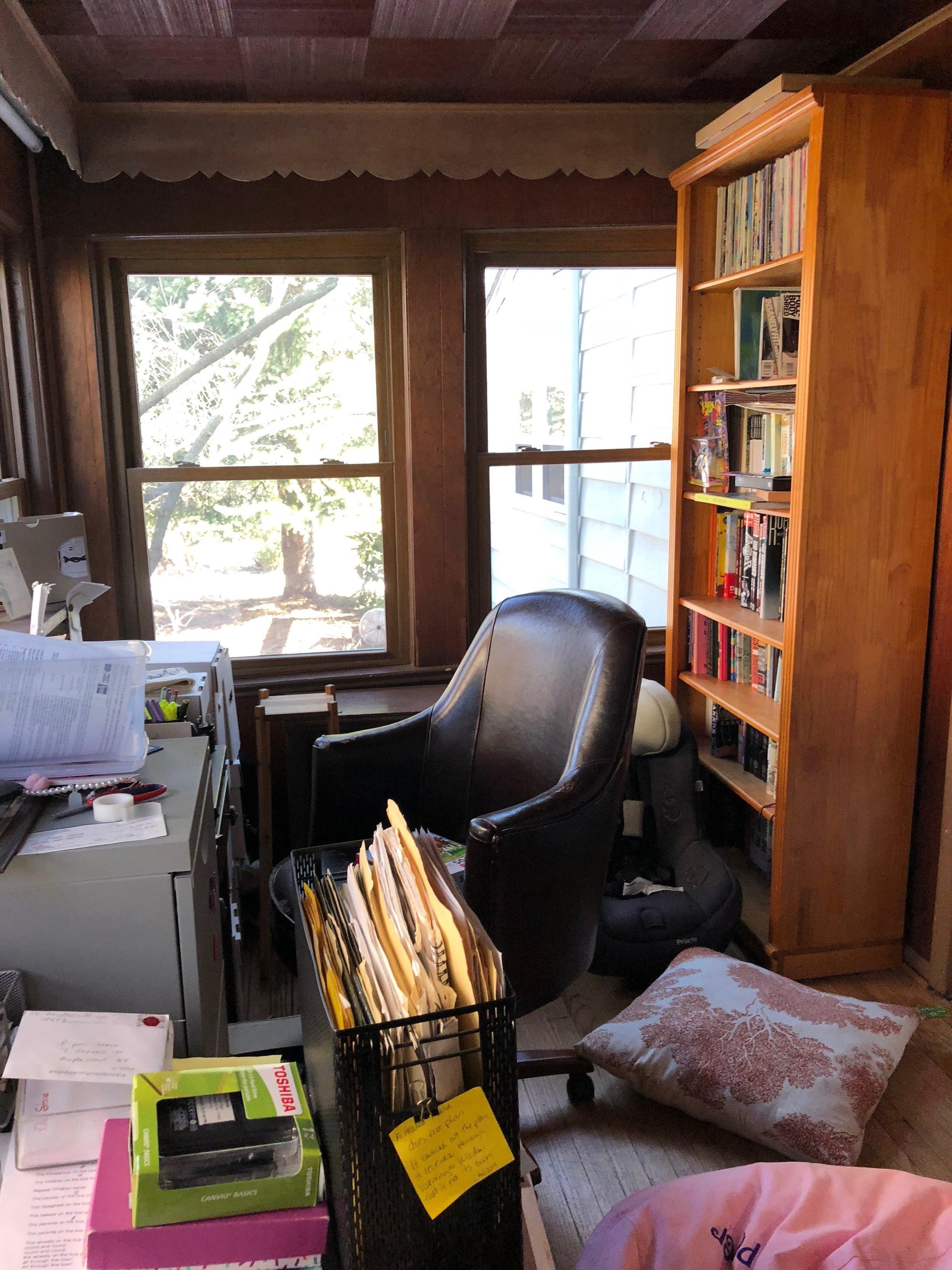 BEFORE, OFFICE/SUNROOM