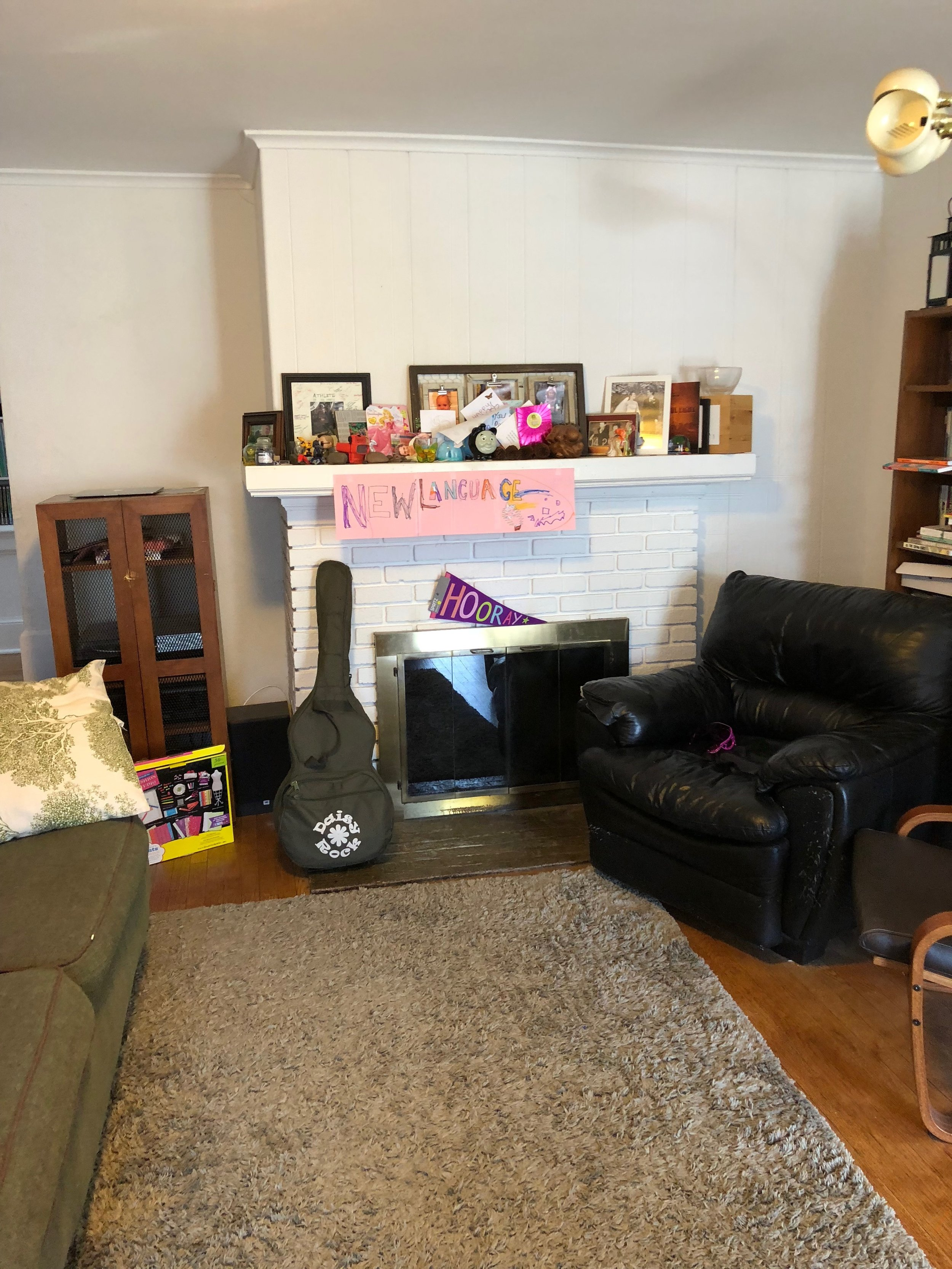 BEFORE, lIVING rOOM