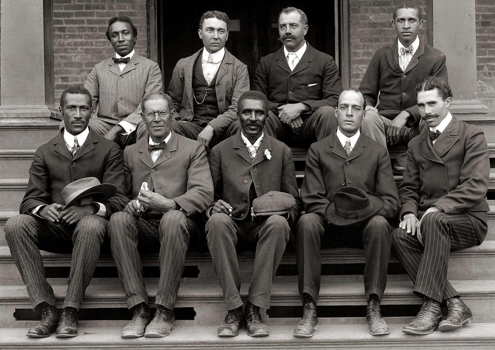 Miembros de la Universidad de Tuskegee en 1902. Wikimedia Commons
