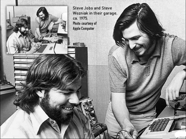 Steve Jobs de joven.