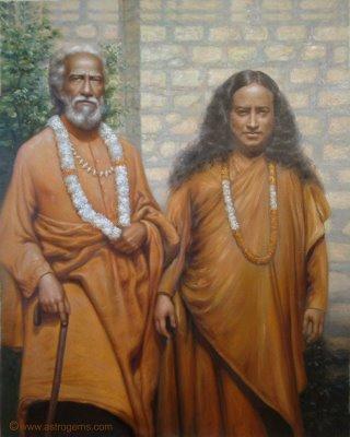 yogananda con su maestro y guru Swami Sri Yukteswar Giri -www.rhoend-.jpg