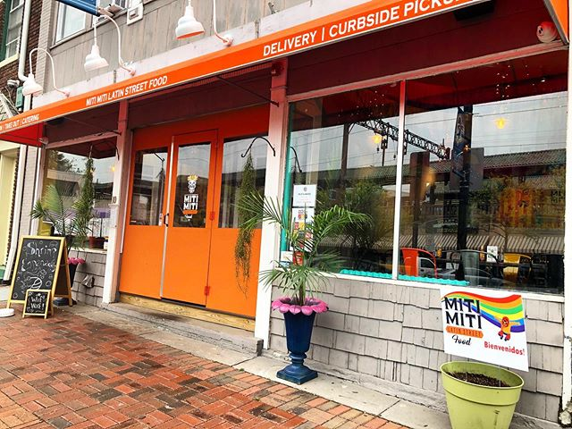 Searching for good tacos in South Orange? Then look for our orange doors and you'll find them! 🌮🧡🙌🏾