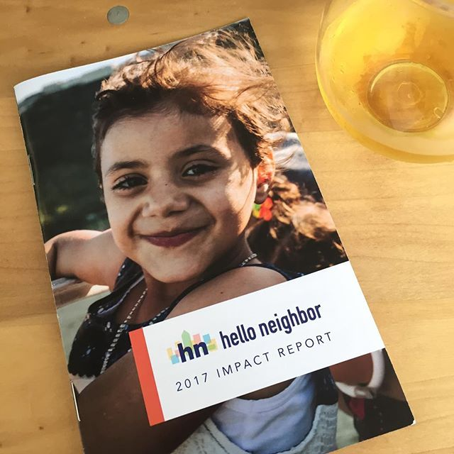 Happiest first birthday to our client @helloneighborhq ! This organization is doing amazing work within the city of Pittsburgh by connecting newly resettled refugees and immigrants with local families to ease the transition of moving to a new country and city. It is an absolute pleasure working with them!