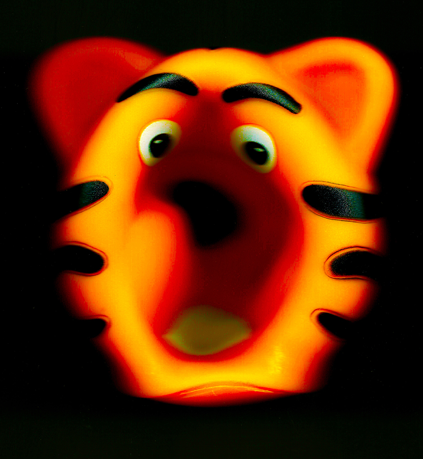 Scared Tiger