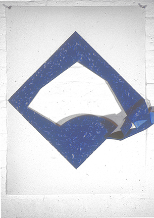 Blue Oilstick