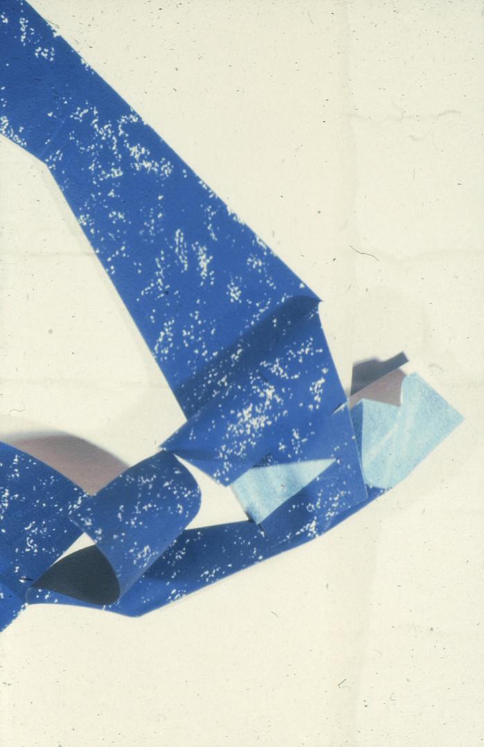 Blue Oilstick detail